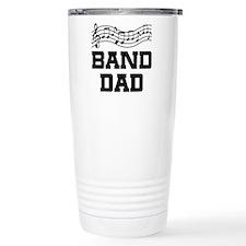 Band Dad Music Staff Travel Mug