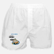 OYOOS Happy Retirement design Boxer Shorts