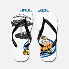 OYOOS Happy Retirement design Flip Flops