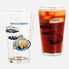 OYOOS Happy Retirement design Drinking Glass