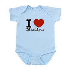 I Love Marilyn Onesie