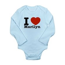 I Love Marilyn Onesie Romper Suit