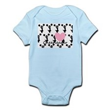 Cheerleader and a heart Infant Bodysuit