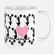 Cheerleader and a heart Mug