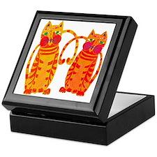 The Tiger Cats Keepsake Box
