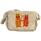 Colorful cats Messenger Bag