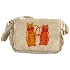 The Tiger Cats Messenger Bag