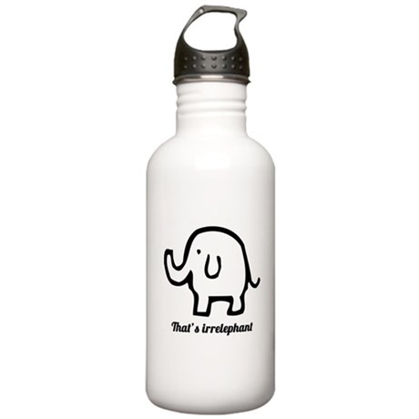 That's Irrelephant Stainless Water Bottle 1.0L