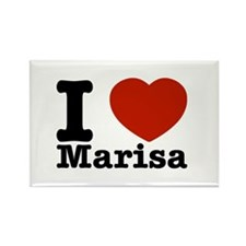 I Love Marisa Rectangle Magnet (10 pack)