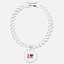 I Love Marisol Charm Bracelet, One Charm