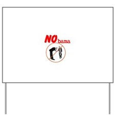 No Obama Yard Sign