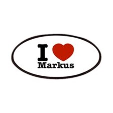 I Love Markus Patches