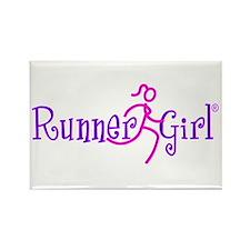 RunnerGirl Rectangle Magnet