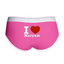 I Love Maryam Women's Boy Brief