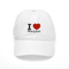I Love Maryam Baseball Cap