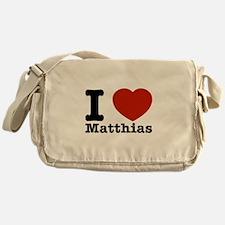 I Love Matthias Messenger Bag