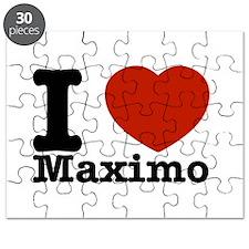 I Love Maximo Puzzle