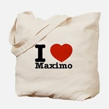 I Love Maximo Tote Bag