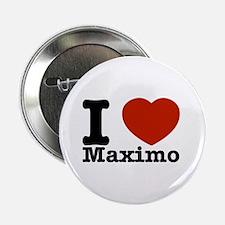 """I Love Maximo 2.25"""" Button"""