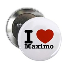 "I Love Maximo 2.25"" Button (10 pack)"