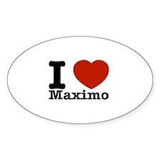 I Love Maximo Decal