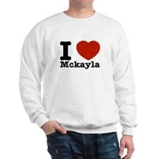I Love Mckayla Sweater