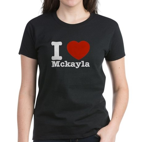 I Love Mckayla Women's Dark T-Shirt