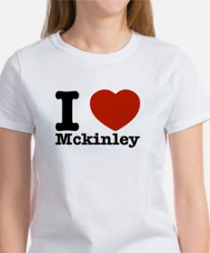 I Love Mckinley Women's T-Shirt