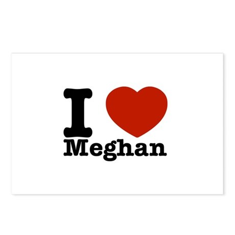 I Love Meghan Postcards (Package of 8)