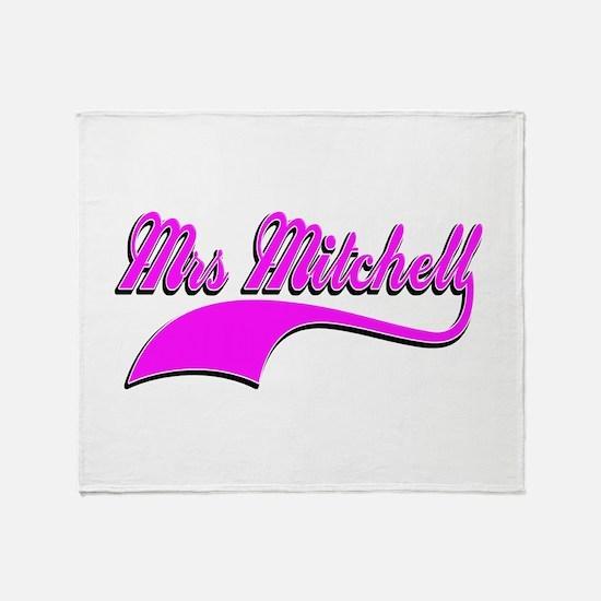 Mrs Mitchell Throw Blanket