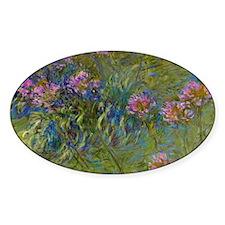 Monet - Agapanthus Decal