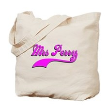 Mrs Perry Tote Bag