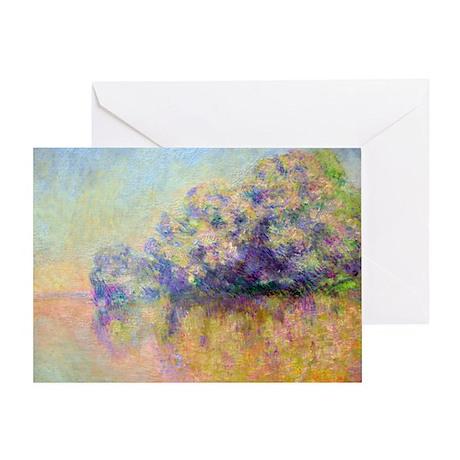 Monet Greeting Card