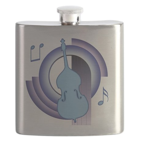 Double Bass Deco 2 Flask