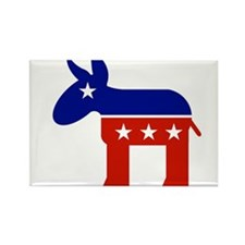 democratic party logo Rectangle Magnet (100 pack)