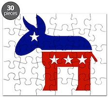 democratic party logo Puzzle