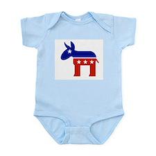 democratic party logo Infant Bodysuit