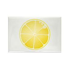 Lemon Rectangle Magnet