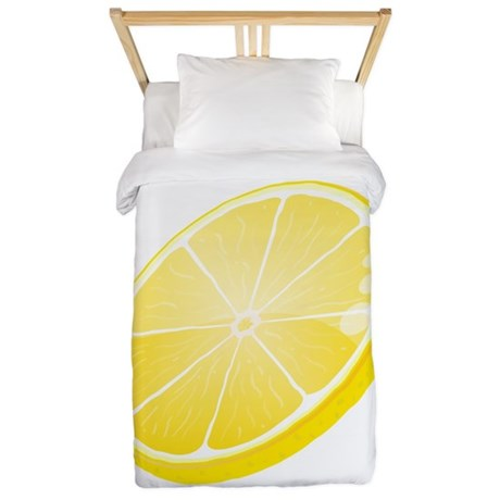 Lemon Twin Duvet