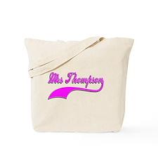 Mrs Thompson Tote Bag