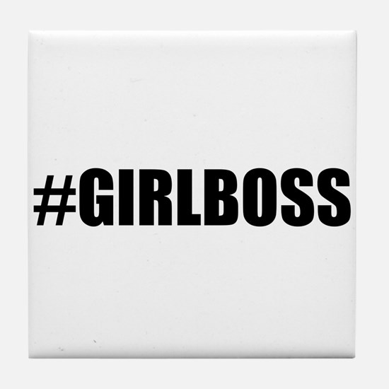 Hashtag Girl Boss Tile Coaster