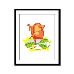 Chicken Framed Panel Print