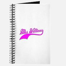 Mrs Williams Journal