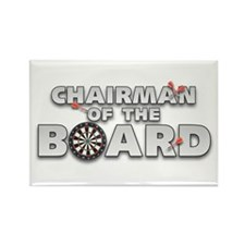 Dart Chairman of the Board Rectangle Magnet