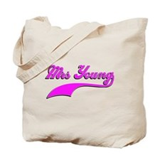 Mrs Young Tote Bag