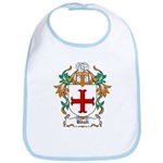 Udall Coat of Arms Bib