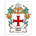 Udall Coat of Arms Small Poster