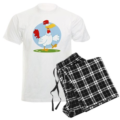Chicken Men's Light Pajamas