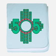 NATIVE 505 ZIA baby blanket