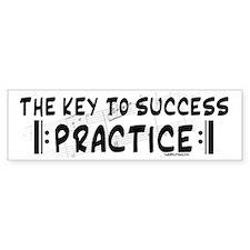 Key to Success Bumper Bumper Bumper Sticker